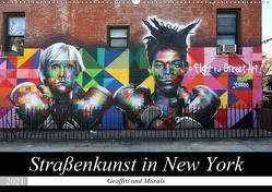 Straßenkunst in New York – Graffiti und Murals (Wandkalender 2021 DIN A2 quer) von gro