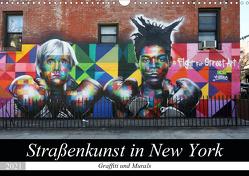 Straßenkunst in New York – Graffiti und Murals (Wandkalender 2021 DIN A3 quer) von gro
