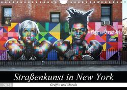 Straßenkunst in New York – Graffiti und Murals (Wandkalender 2021 DIN A4 quer) von gro