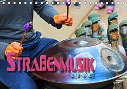 Straßenmusik live (Tischkalender 2021 DIN A5 quer) von Bleicher,  Renate