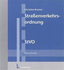 Strassenverkehrsordnung (StVO) von Kramer,  Christine