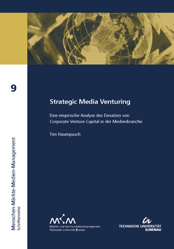Strategic Media Venturing von Hasenpusch,  Tim