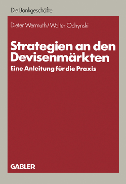 Strategien an den Devisenmärkten von Wermuth,  Dieter