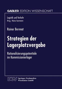 Strategien der Lagerplatzvergabe von Bernnat,  Rainer