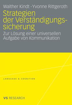 Strategien der Verständigungssicherung von Kindt,  Walther, Rittgeroth,  Yvonne