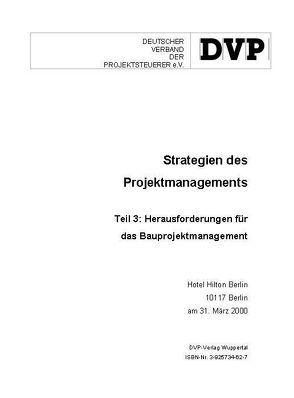 Strategien des Projektmanagements