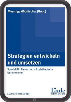 Strategien entwickeln und umsetzen von Mödritscher,  Gernot, Mussnig,  Werner