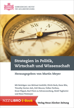 Strategien in Politik, Wirtschaft und Wissenschaft von Meyer,  Martin