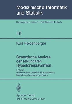 Strategische Analyse der sekundären Hypertonieprävention von Heidenberger,  K.
