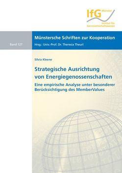 Strategische Ausrichtung von Energiegenossenschaften von Kleene,  Silvia
