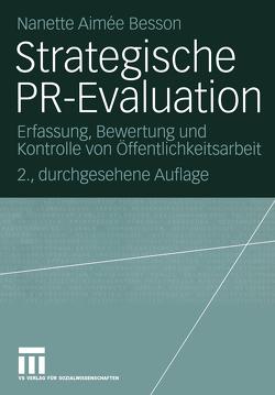 Strategische PR-Evaluation von Besson,  Nanette