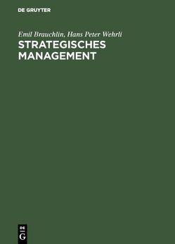 Strategisches Management von Brauchlin,  Emil, Wehrli,  Hans Peter