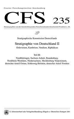 Stratigraphie von Deutschland II: Ordovizium, Kambrium, Vendium, Riphäikum