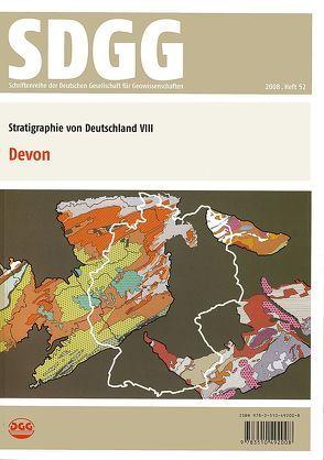 Stratigraphie von Deutschland VIII: Devon von Weddige,  Karsten