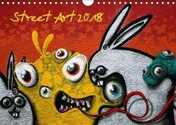 Street-Art 2018 / CH-Version (Wandkalender 2018 DIN A4 quer) von Stolzenburg,  Kerstin