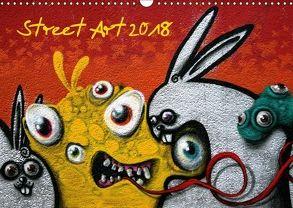 Street-Art 2018 (Wandkalender 2018 DIN A3 quer) von Stolzenburg,  Kerstin