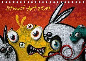Street-Art 2019 / CH-Version (Tischkalender 2019 DIN A5 quer) von Stolzenburg,  Kerstin