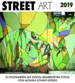 Street Art 2019 von Schiwy-Jessen,  Monika
