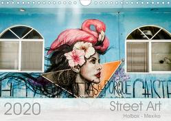 Street Art – Holbox, Mexico (Wandkalender 2020 DIN A4 quer) von Schoennerstedt,  Maren