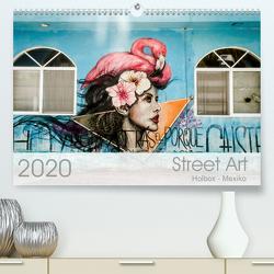 Street Art – Holbox, Mexico (Premium, hochwertiger DIN A2 Wandkalender 2020, Kunstdruck in Hochglanz) von Schoennerstedt,  Maren