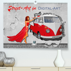 Street-Art in Digital-Art by Mausopardia (Premium, hochwertiger DIN A2 Wandkalender 2020, Kunstdruck in Hochglanz) von Jüngling alias Mausopardia,  Monika