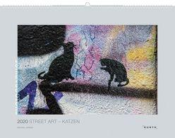 Street Art – Katzen 2020 von Harker,  Michael