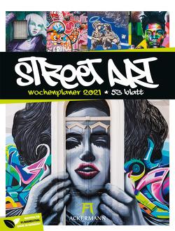 Street Art – Wochenplaner Kalender 2021