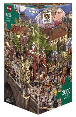 Street Parade Puzzle von Göbel,  Doro, Knorr,  Peter