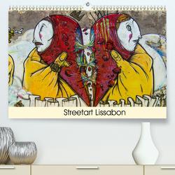 Streetart Lissabon (Premium, hochwertiger DIN A2 Wandkalender 2020, Kunstdruck in Hochglanz) von Schmitz,  Michael