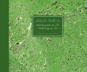 Streichquartett op. 130 / Große Fuge op. 133 B-Dur von Beethoven,  Ludwig van, Konrad,  Ulrich