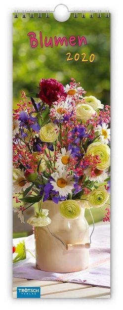 """Streifenkalender """"Blumen"""" 2020"""