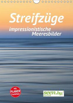 Streifzüge – impressionistische Meeresbilder (Wandkalender 2019 DIN A4 hoch) von Nimtz,  Holger