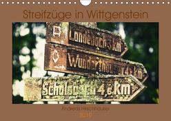 Streifzüge in Wittgenstein (Wandkalender 2019 DIN A4 quer) von Hirschhäuser,  Andreas