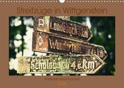 Streifzüge in Wittgenstein (Wandkalender 2020 DIN A3 quer) von Hirschhäuser,  Andreas