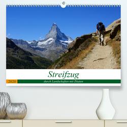 Streifzug durch Landschaften mit Zitaten (Premium, hochwertiger DIN A2 Wandkalender 2020, Kunstdruck in Hochglanz) von Michel,  Susan