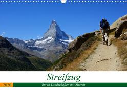 Streifzug durch Landschaften mit Zitaten (Wandkalender 2020 DIN A3 quer) von Michel,  Susan