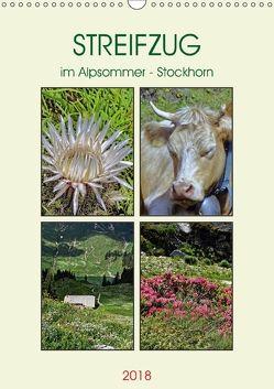 STREIFZUG im Alpsommer – Stockhorn (Wandkalender 2018 DIN A3 hoch) von Michel,  Susan