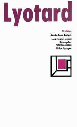 Streifzüge von Lyotard,  Jean F, Schmidt,  Hans W