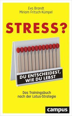 Stress? Du entscheidest, wie du lebst von Brandt,  Eva, Fritsch-Kümpel,  Miriam