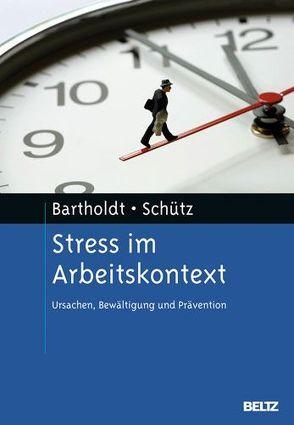 Stress im Arbeitskontext von Bartholdt,  Luise, Schütz,  Astrid