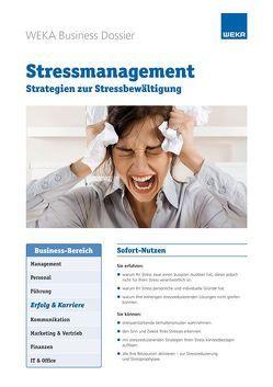 Stressmanagement von Miller,  Birgitte