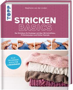 Stricken basics – Alle Techniken auch für Linkshänder! von van der Linden,  Stephanie