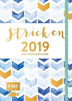 Stricken – Mein Wochenplaner 2019 von Nöldeke,  Marisa