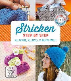 Stricken – Step by Step. Mit Strickschule auf DVD