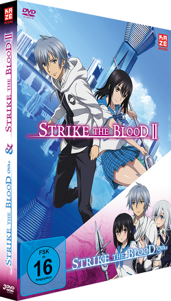 Strike the Blood Second / Strike the Blood OVAs – DVD-Box (3 DVDs) von Ando,  Masaomi