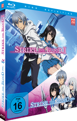 Strike the Blood Second / Strike the Blood OVAss – Blu-Ray-Box (2 Blu-rays) von Ishihara,  Tatsuya