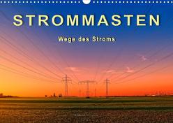 Strommasten – Wege des Stroms (Wandkalender 2020 DIN A3 quer) von Roder,  Peter