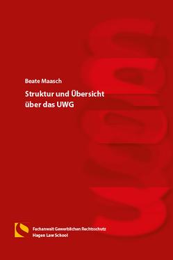 Struktur und Übersicht über das UWG von Gräfin von Schlieffen,  Katharina, Maasch,  Beate, Zwiehoff,  Gabriele