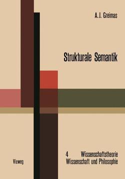 Strukturale Semantik von Greimas,  Algirdas Julien