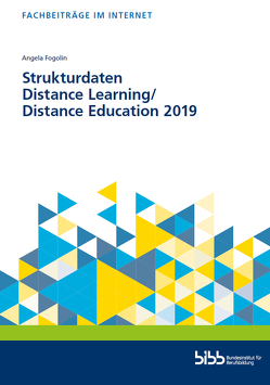 Strukturdaten Distance Learnin/Distance Education 2019 von Fogolin,  Angela